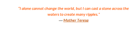 building community mother teresa